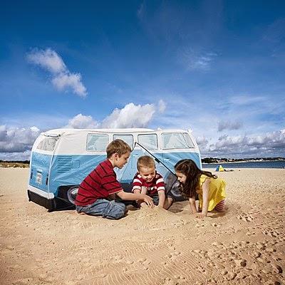 Tienda de Campaña Infantil Furgoneta Volkswagen