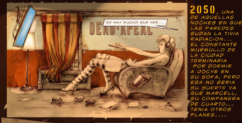 Dead Apeal new comic