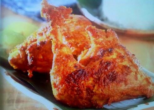 Resep Ayam Bakar Padang