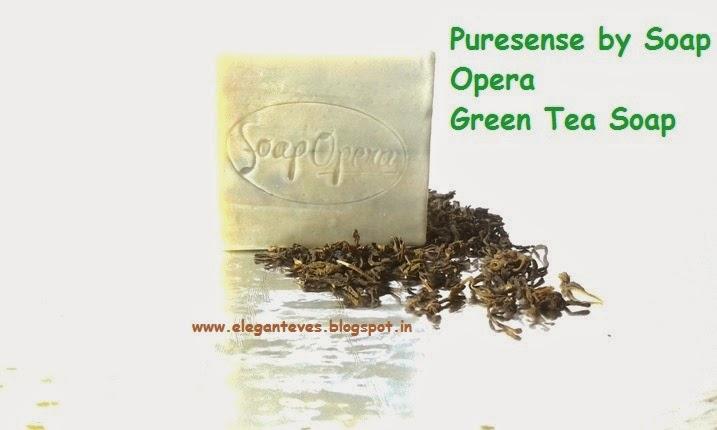 Puresense by Soap Opera Green Tea soap