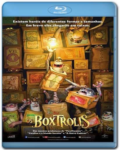 Baixar Os Boxtrolls AVI BDRip Dual Áudio + Bluray 720p e 1080p 3D Torrent