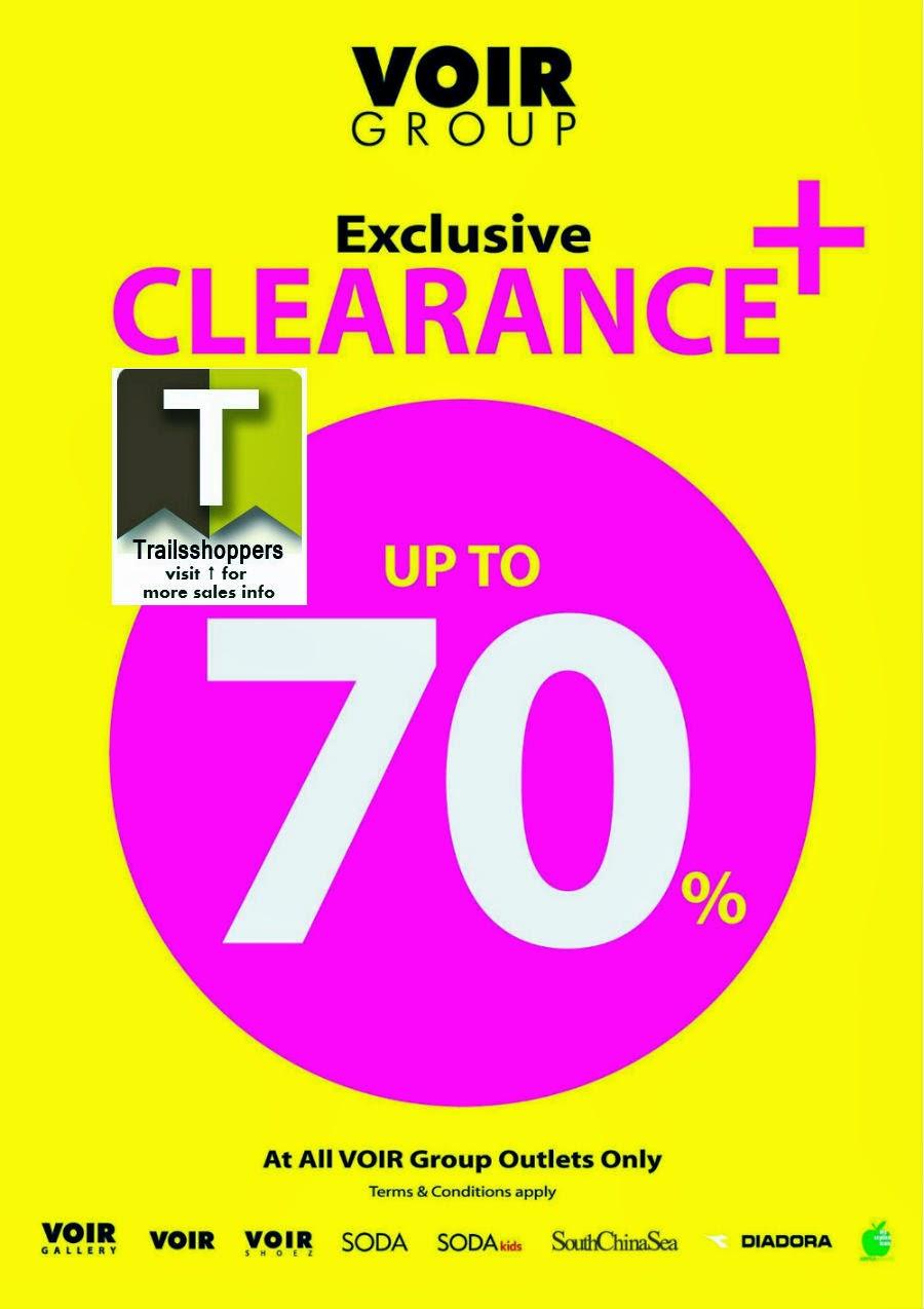 Voir Group Clearance Sales Malaysia