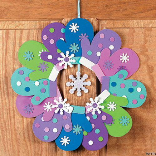 Poema de inverno for Winter holiday crafts for kids