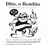 """""""Dito, o Bendito"""" - Câmara de Vereadores - Piracicaba, SP (1996)"""