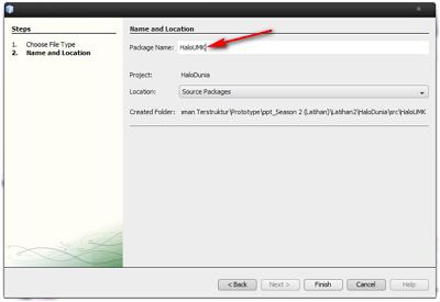 Cara membuat HelloWorld di NetBeans