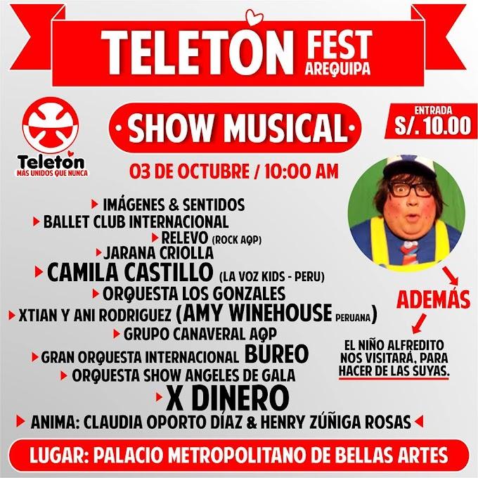 Teletón Fest Arequipa 2015 - 03 de octubre
