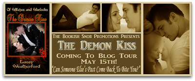 The Demon Kiss Blog Tour: Guest Post with author Lacey Weatherford