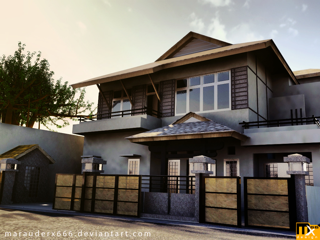 Ez decorating know how home design a variety of exterior for Asian inspired house plans