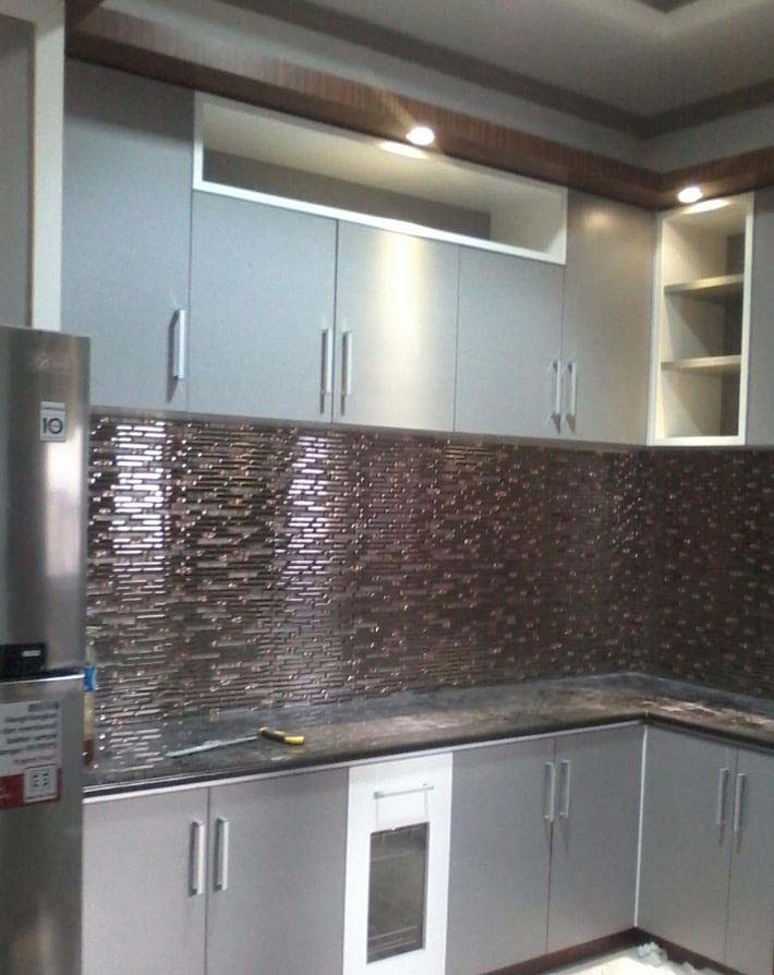 Jaya Abadi Interior Kitchen Set Platinum