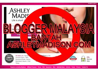 Blogger Malaysia Bantah AshleyMadison.com