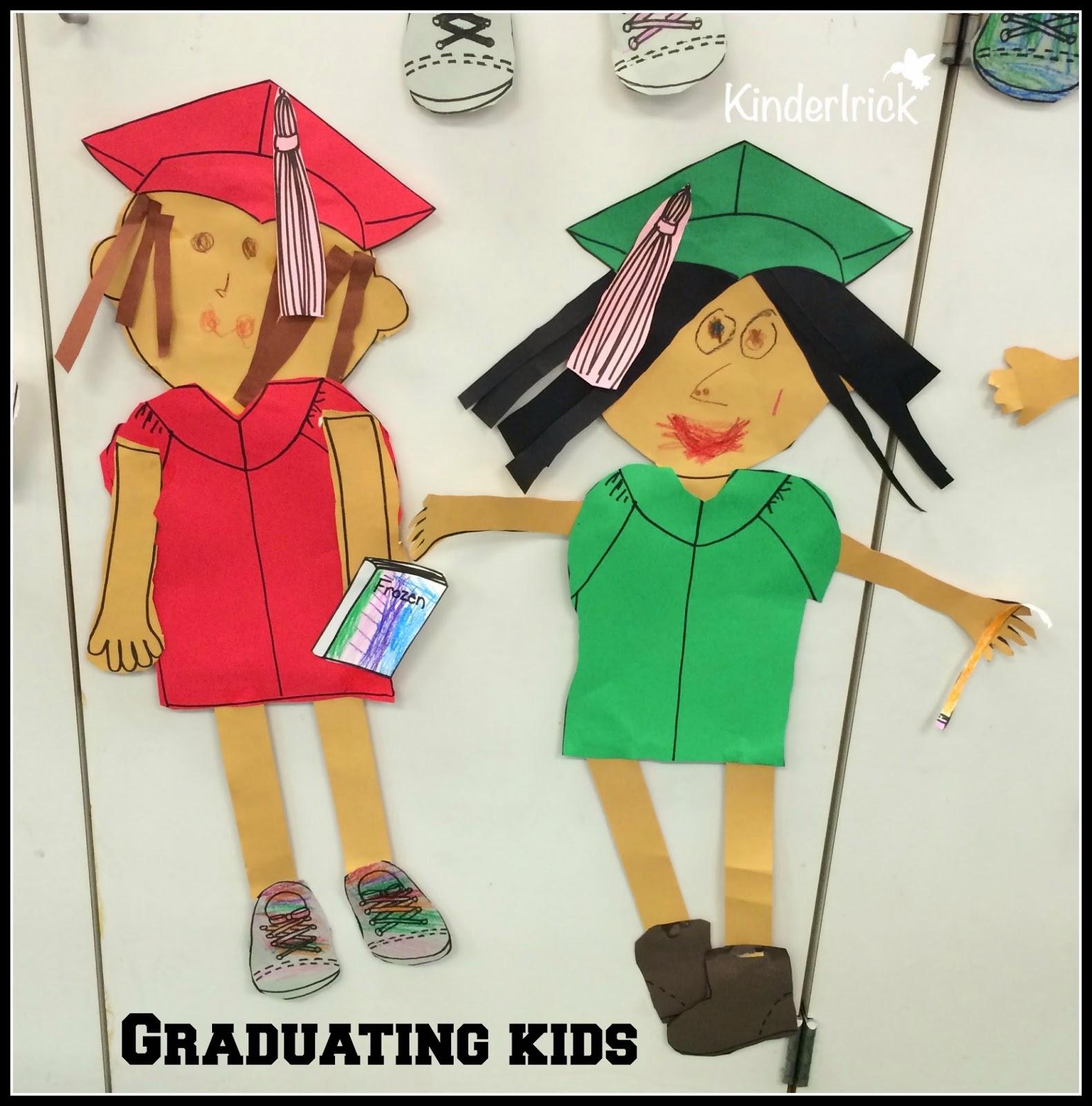 graduating kids glyph