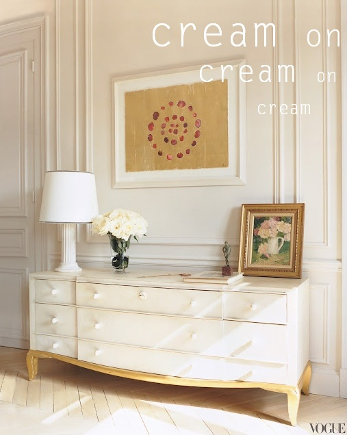 Ways to use Cream in Interior Design and decor