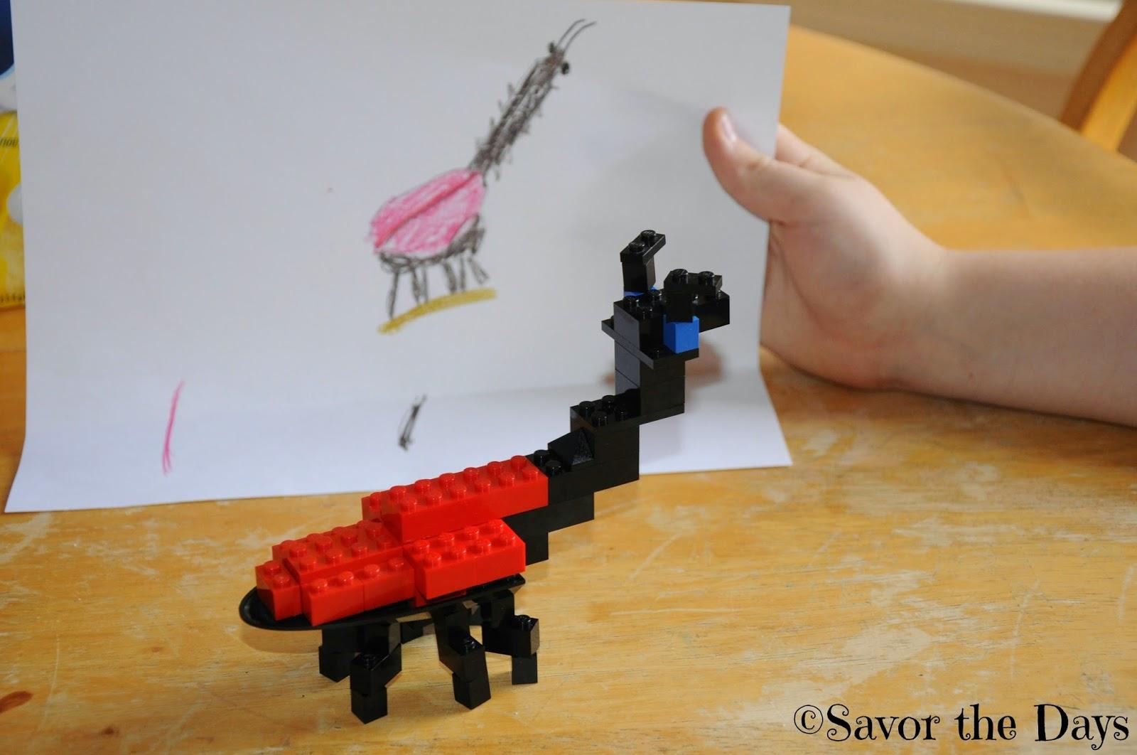 Lego Giraffe Weevil