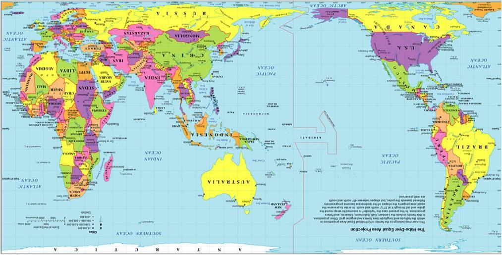 Australia Mapa Mundi