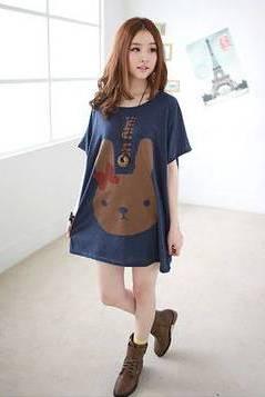 large tshirt as dress
