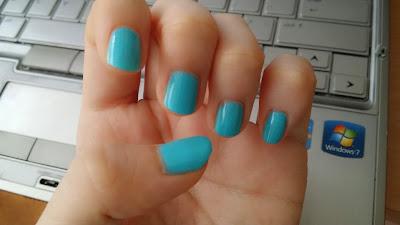 opi aqua, nail polish, blue, aquamarine, turquoise, opi swatch
