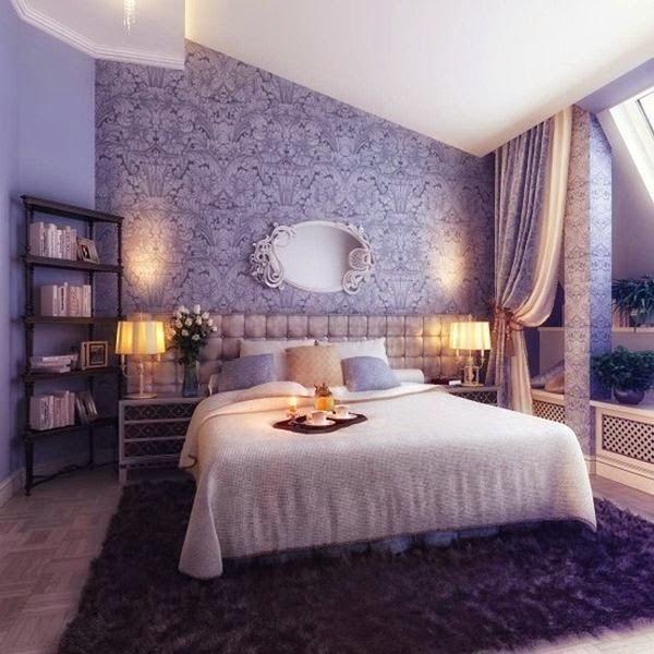 Desain kamar tidur romantis 4