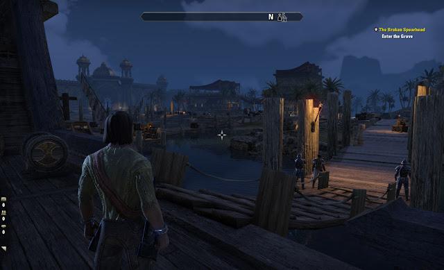 Elder Scrolls Online Stros M'Kai Port Hunding docks