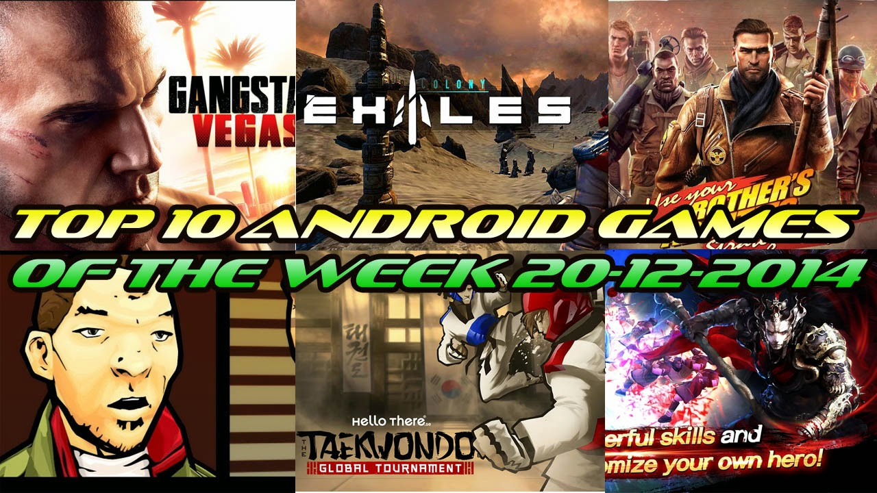 TOP 10 BEST NEW ANDROID GAMES OF THE WEEK - 20th December 2014