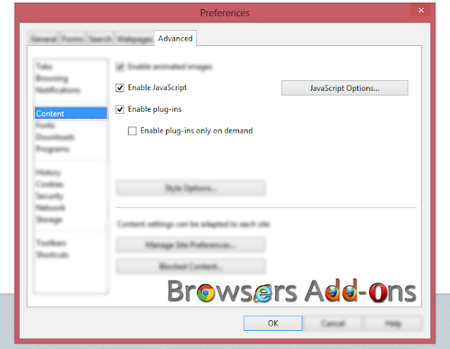 how to find my add ons google chrome