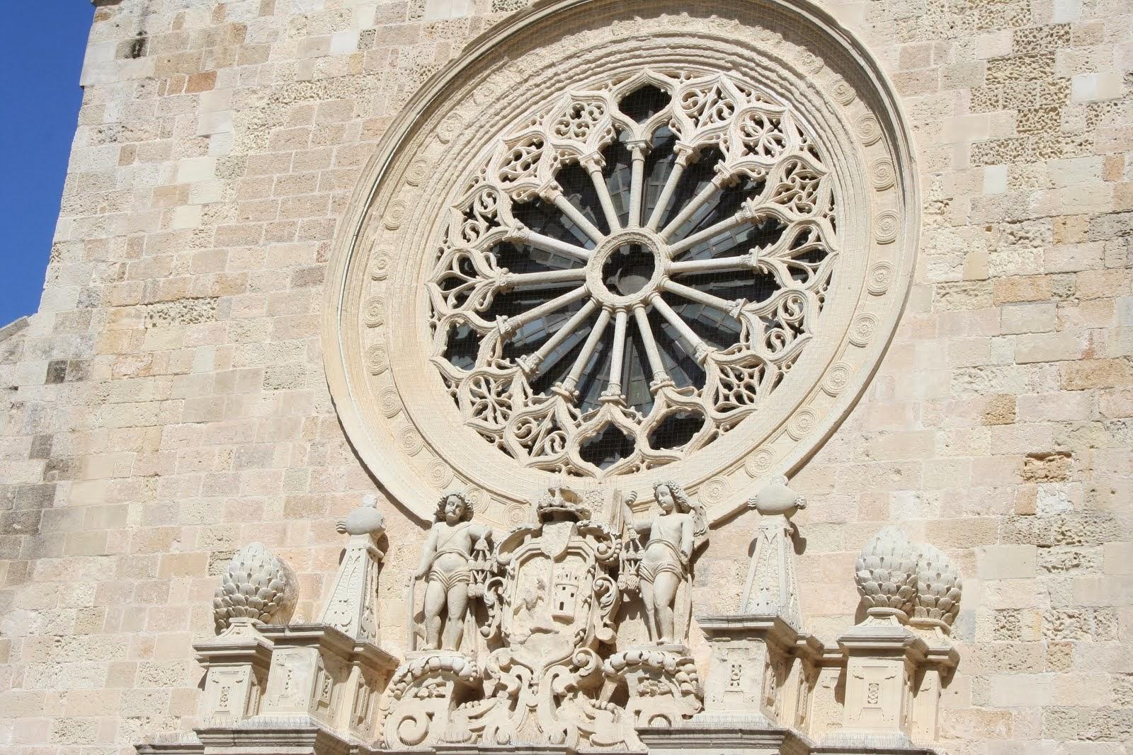 Il rosone della cattedrale di Otranto