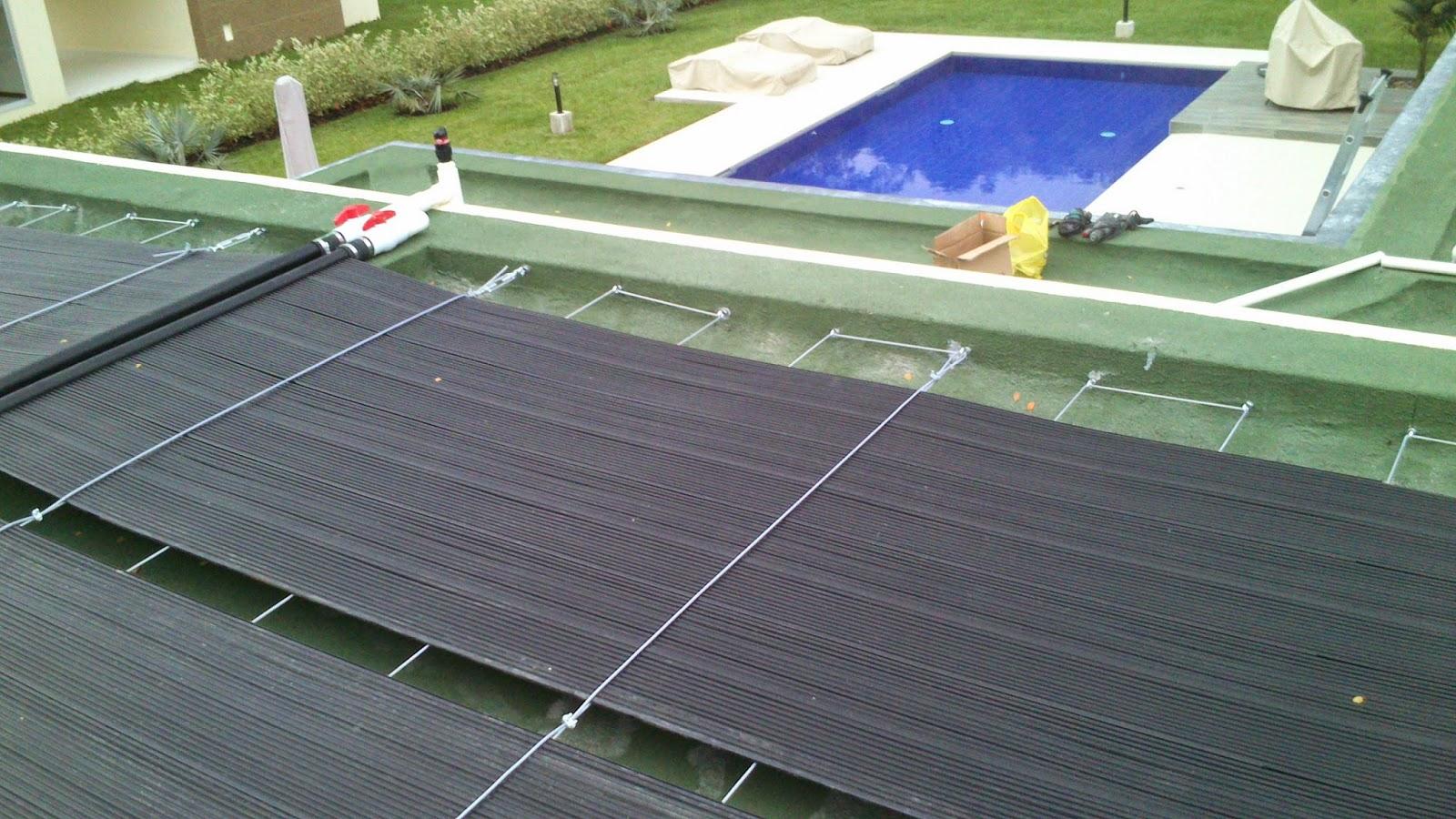 Calentadores de piscinas solares