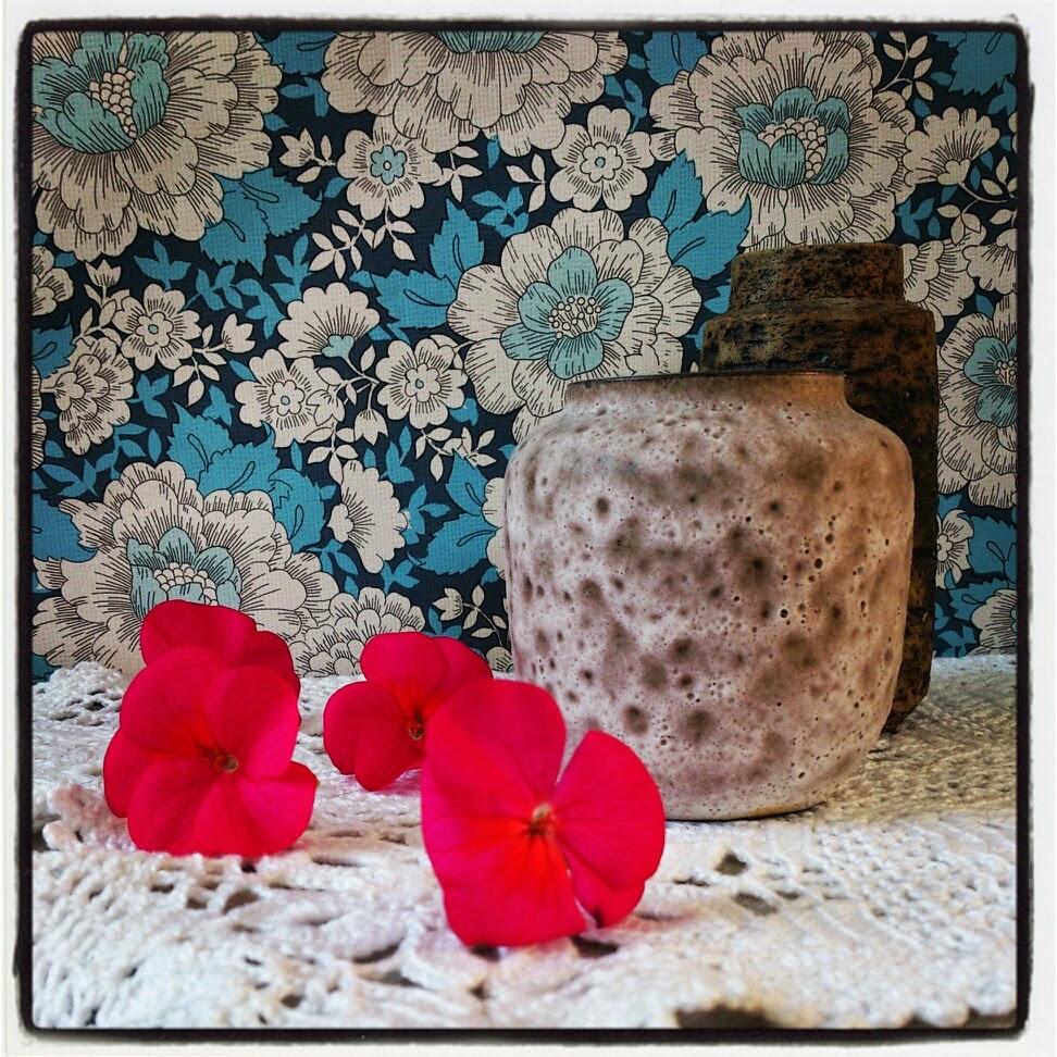 byHaafner, pink pelargonium, neon, vintage,