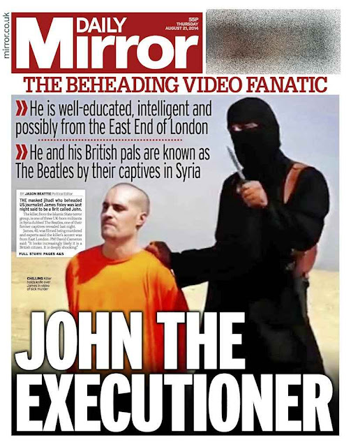 John, verdugo britânico do jornalista James Foley