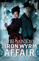 the iron wyrm affair by lilith saintcrow book cover