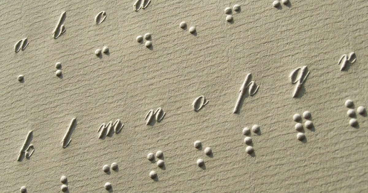 how to write braille