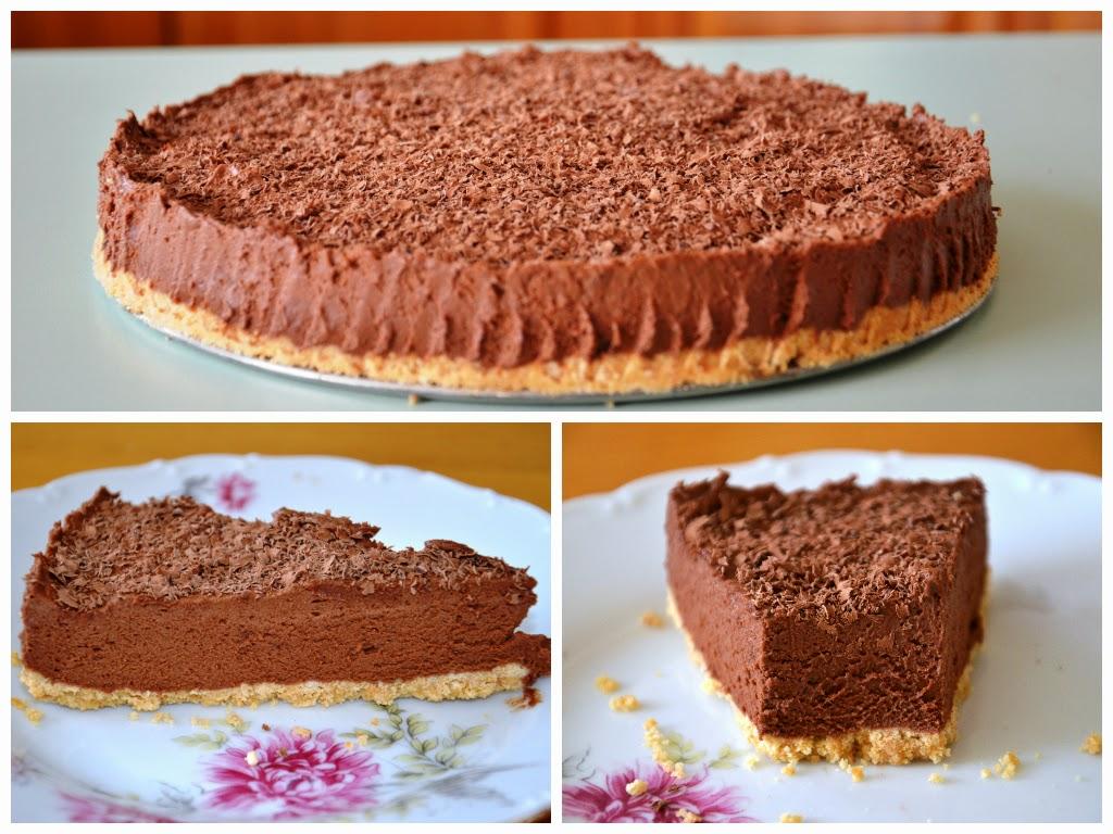 Čokoládovo mascarponový koláč