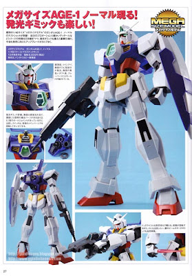 Mega Size Gundam AGE-1 Normal
