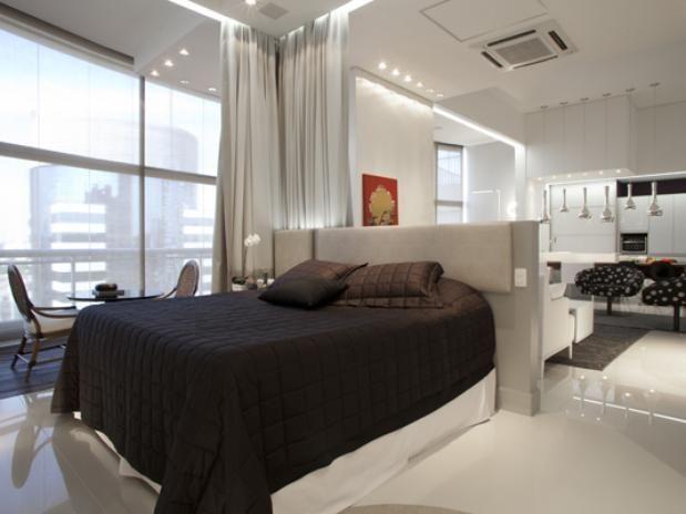 Decoracao De Sala E Quarto ~ decoracao de sala quarto cozinha e banheiroQuarto e sala conjugados