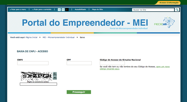 Portal do Empreendedor - MEI