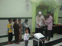 Hari Pertama Dauroh Imam Diakhiri Dengan Penyerahan Juara Musabaqah Hifdzhul Qur'an