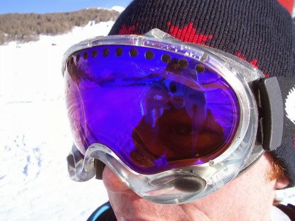 mark snowboarding in italy