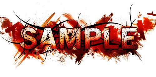 Horror Style Text Effect with Dirt and Splatter Texture