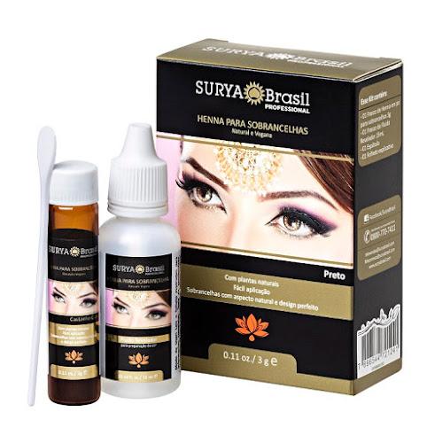 Novidade Beauty Fair - Surya Brasil lança Henna para sobrancelhas