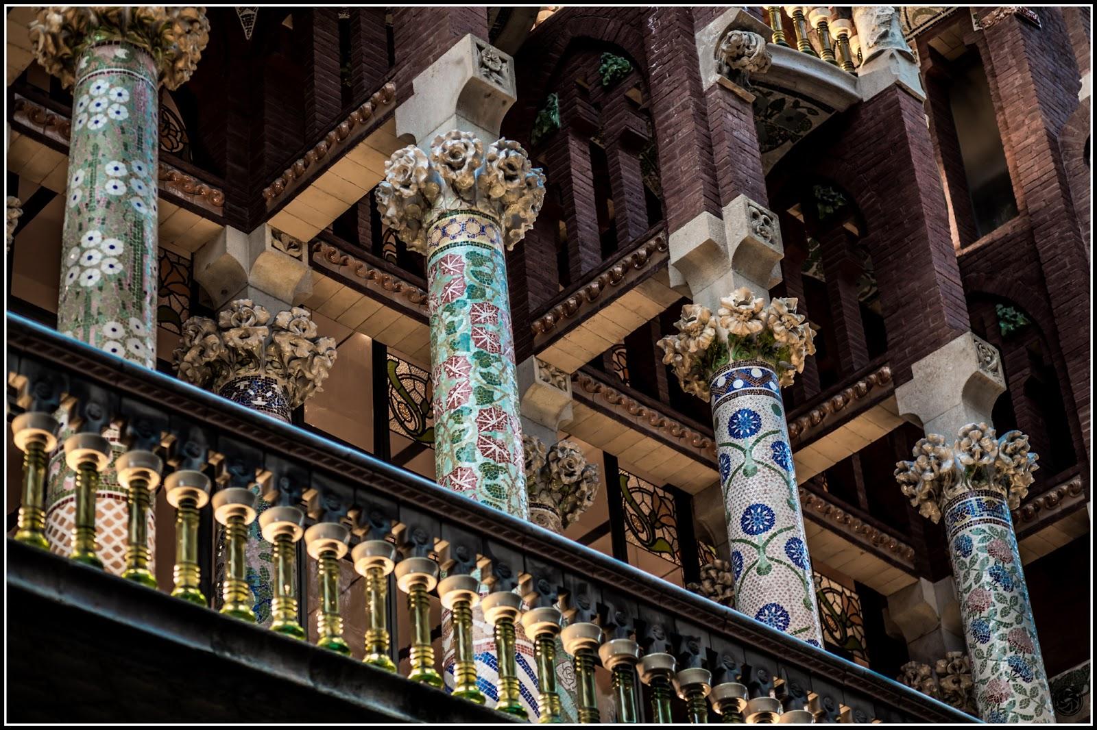 Palau de la Música Catalana :: Canon EOS 5D MkIII | ISO800 | Canon 85mm | f/2.2 | 1/60s