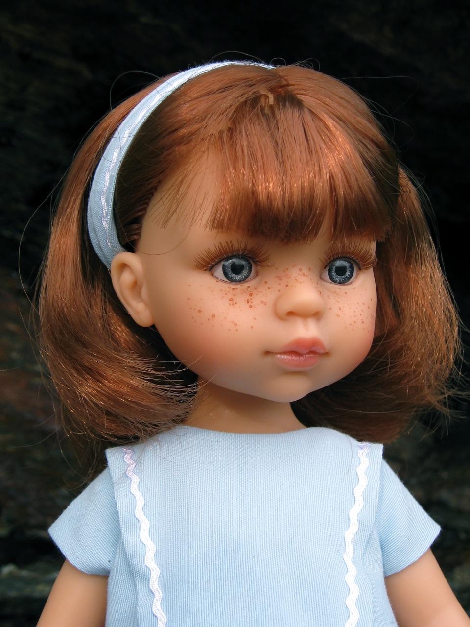 Ruth Treffeisen play doll Cristi Blue