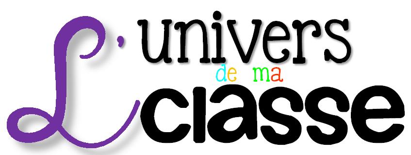 L'univers de ma classe