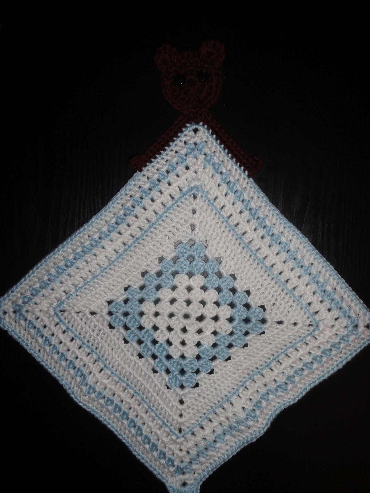 Crochet Crazy Mama Crochet Lovey Security Blankets