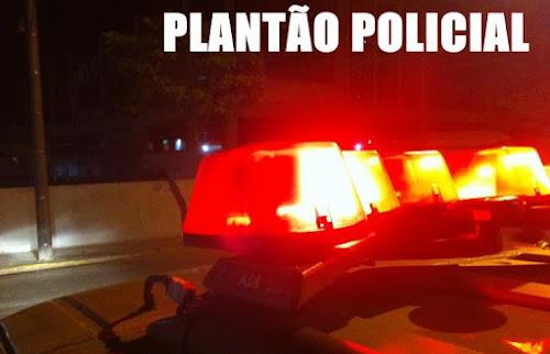 CAMAQUÃ - MOTO COM PLACA FALSA É RECUPERADA PELA BRIGADA MILITAR, DURANTE ABORDAGEM NO BAIRRO OURO VERDE