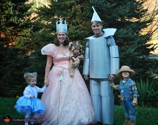 what were the characters in the wizard of oz looking for