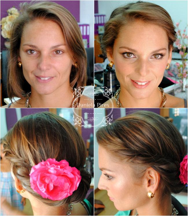 maquilhagem de noiva, noivas, maquilhadora, antes e depois, maquilhagem ao domicílio, makeup artits lisboa, daniela pires