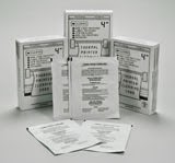 Thermal Printer Cleaning Card, 3 x 6, 10 per pack