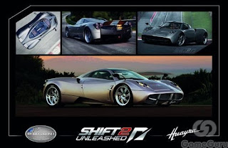 Need for Speed Shift 2: Unleashed - Pagani Huayra