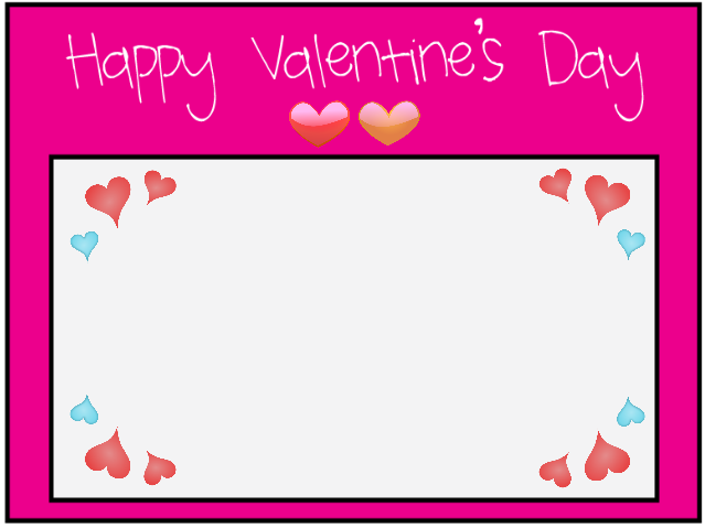 Valentines Day Borders For Microsoft Word Happy valentine's day to all