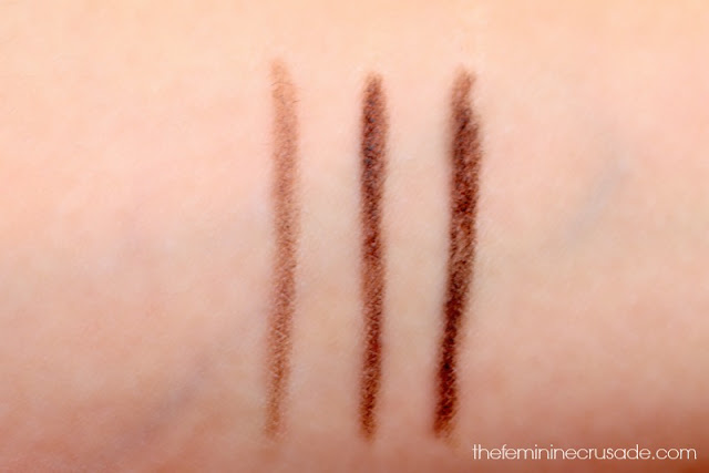 Eye Of Horus Brow Define (swatches)