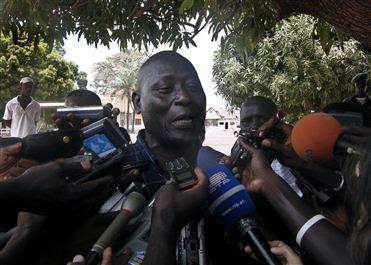Zamora Induta e Fernando Gomes deixaram a Guiné-Bissau e estão na Gâmbia
